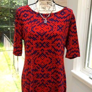 LuLaRoe Short sleeve Dress, size XL
